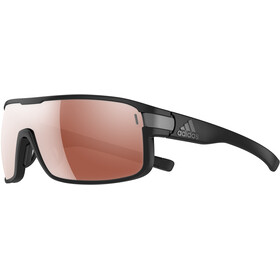 adidas Zonyk Aero Glasses L, black matt/lst active silver